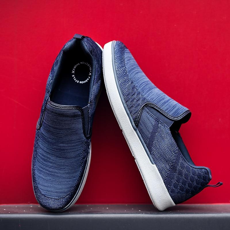 CYYTL Performance Men's Loafers Soft Flyknit Slip-On Walking Shoes Spring Casual Male Sneakers Zapatos de Hombre Erkek Ayakkabi (13)