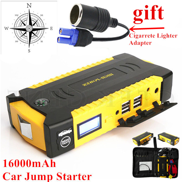 New Mini Portable 12V Car Battery Jump Starter Auto Jump Engine Power Bank Car Start Car Charger Booster Buster Starting Device green super 68800mah car jump starter auto engine eps emergency start battery source laptop portable charger mobile power bank