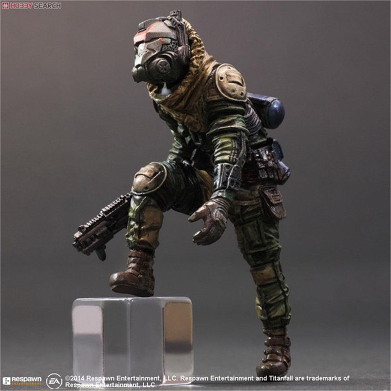 Hobby Movie Model Doll Best Gift Cosplay Toy Action 26cm Anime Titanfall Atlas Play Arts PA Kai Figure PVC 10 Collection