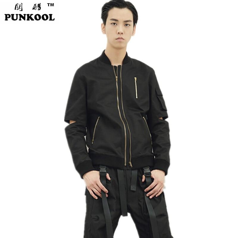Black bomber jacket men online shopping-the world largest black