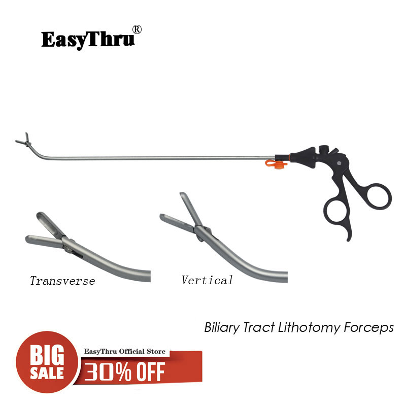 item image  Laparoscopic surgical procedure Instrument Biliary Tract Lithotomy Forceps reusable top quality medical instructing and coaching provides HTB1a