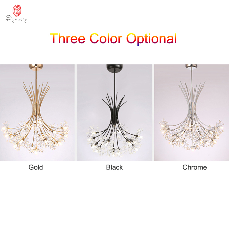Image 5 - Dandelion Series Hanging Lights Art Decorative Pendant Lamp Branch& Ball Shape Include LED G4 Bulbs Foyer Cafe Living Room Light-in Pendant Lights from Lights & Lighting