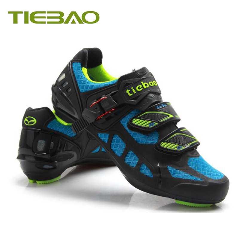 Купить с кэшбэком Tiebao sapatilha ciclismo cycling shoes road 2019 men women air mesh breathable superstar original outdoor bike cycling sneakers