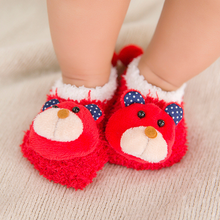 0-18 Months Baby Socks Autumn and Winter New Cute Doll Warm Non-slip Toddler 5 Colors