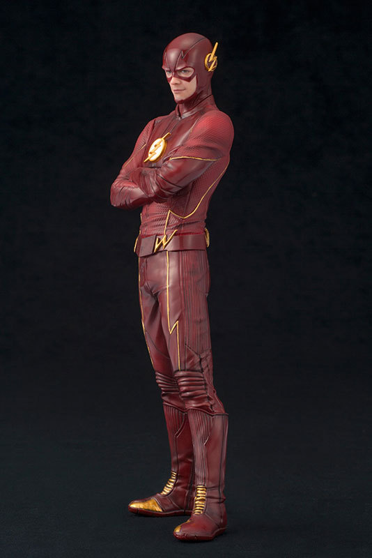 Tobyfancy Justice League The Flash Figure ARTFX+ Barry Allen PVC 1/10 Collection Model Toy the human league the human league crash dare 2 cd