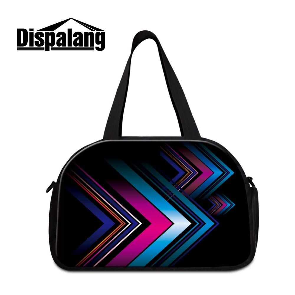 designer medium sized luggage garment bag for men boys best Strips duffel bag for women lightweight weekend travel bags for girl