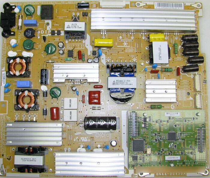 PD46C2_BSM BN44-00430A Power supply  TV parts is used