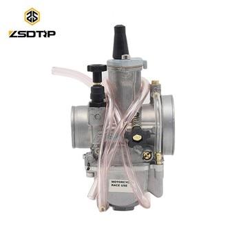 Carburador ZSDTRP para motocicleta Keihin Pwk, Carburador 28 30 32 34 mm con Power Jet Fit en el Motor de carreras, Carburador de Motocross