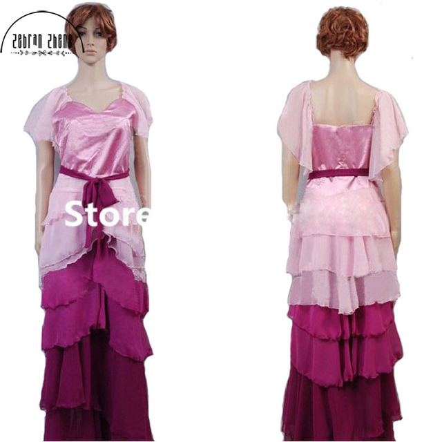 Hermine Granger Yule Ballkleid Kleid Cosplay Kostüm Für Erwachsene ...