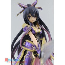 Free Shipping 17cm Anime DATE A LIVE Yatogami Tohka Battle Suit PVC Action Figure Collection Model Toys Doll