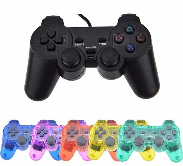 Contrôleur filaire pour manette PS2 manette Joypad Controle pour PlayStation 2