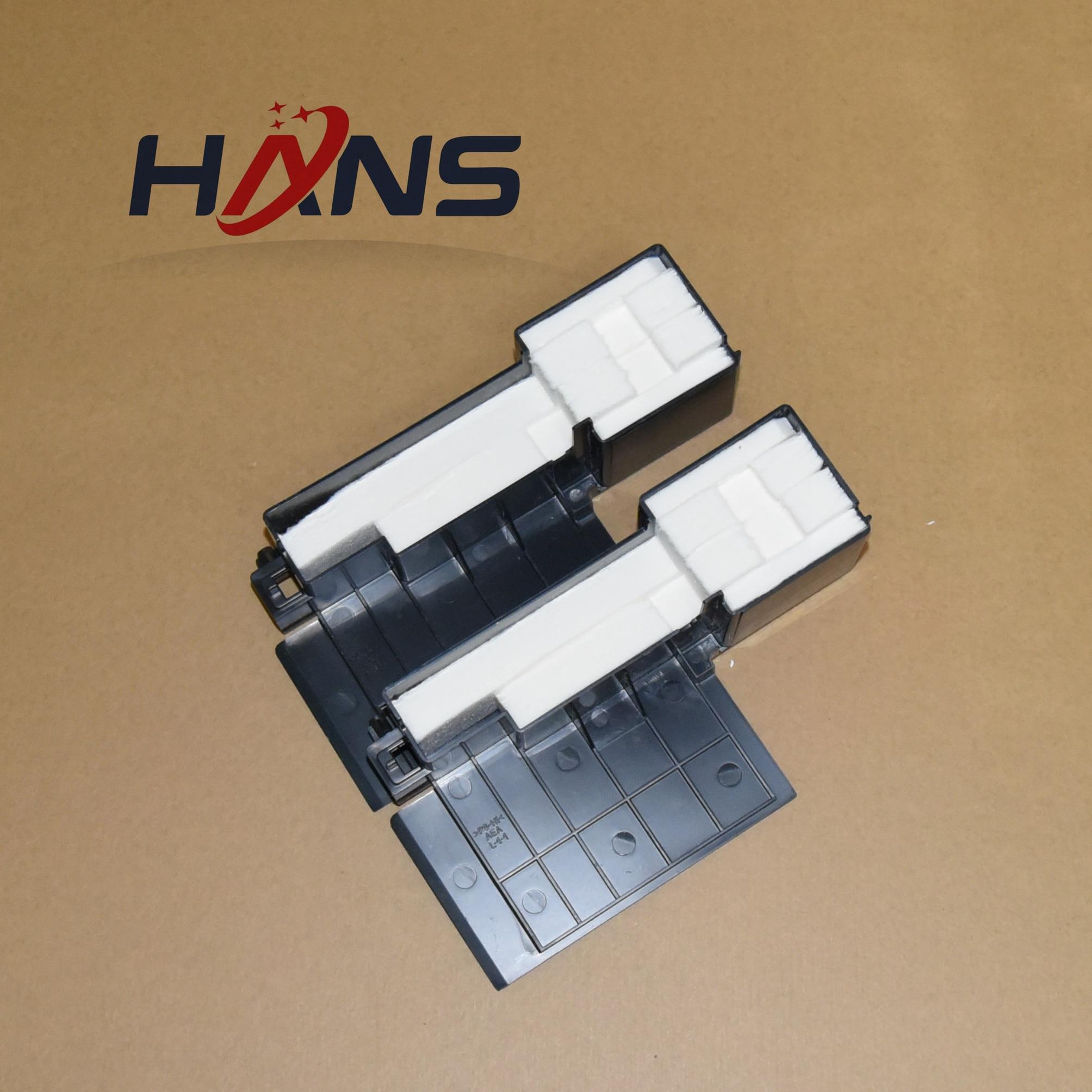 Image 3 - 16PCS Original L301 Waste Ink Tank Pad Sponge for Epson L300 L303 L350 L351 L353 L358 L355 L111 L110 L210 L211 ME101 ME303 ME401-in Printer Parts from Computer & Office