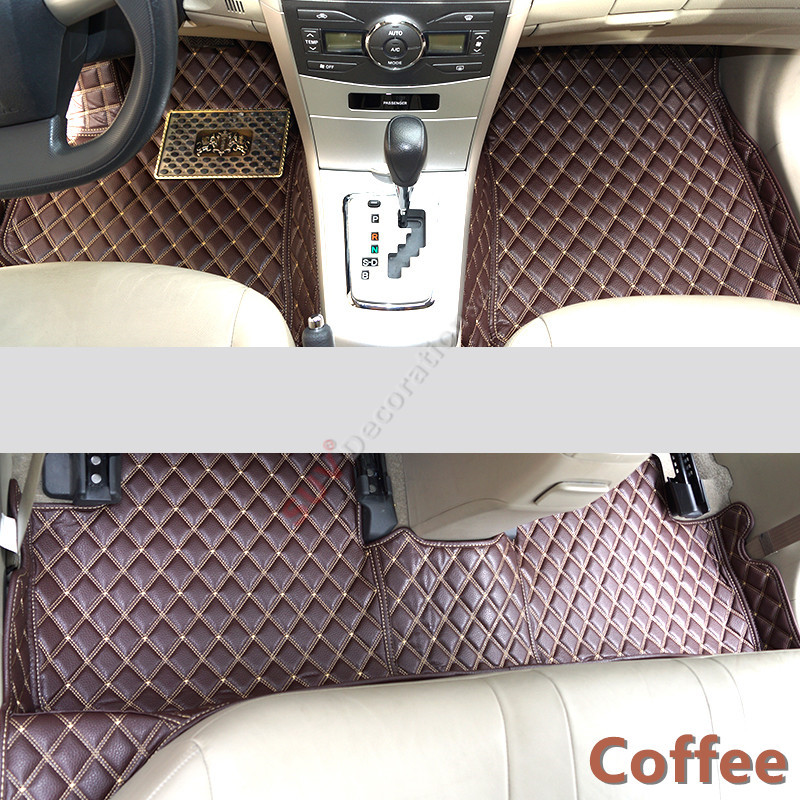 For Audi Q5 8R 2008 - 2015 Accessories Interior Leather Carpets Cover Car Foot Mat Floor Pad 1set 2004 2006 for bmw x5 e53 2004 2005 2006 accessories interior leather carpets cover car floor foot mat floor pad 1set
