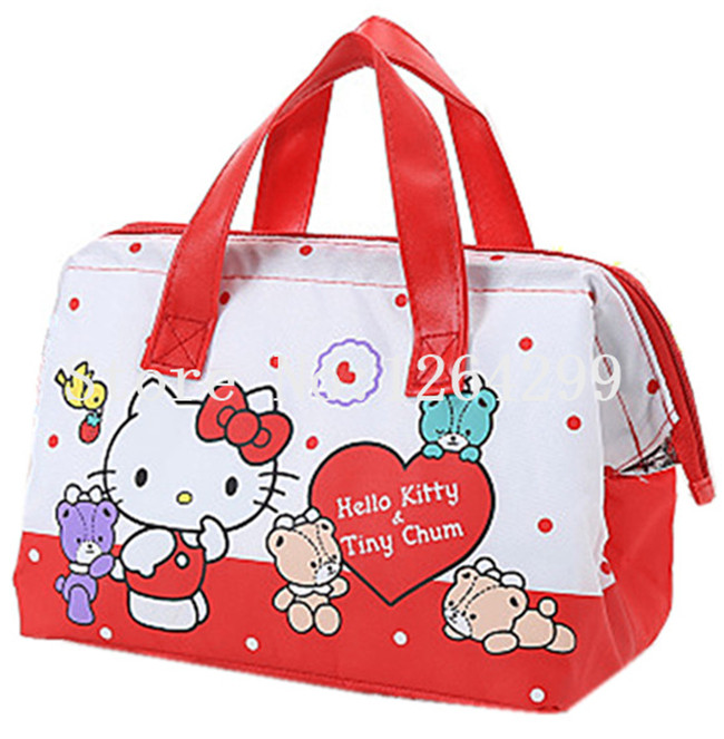 e312ba89d Detail Feedback Questions about New Fashion Hello Kitty My Melody Girls  Woman Oxford Aluminum foil Theraml Lunch Cooler Bags Kids Handbags for  Children on ...