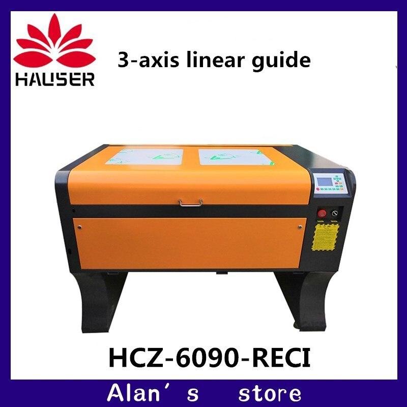 Le vendite di alta qualità 6090 CO2 macchina di taglio laser CO2 macchina per incisione laser Ruida 4060 FAI DA TE macchina di taglio macchina di marcatura