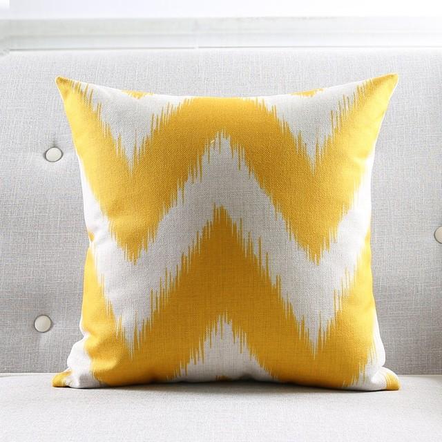 Geometric Cushion Cover