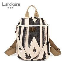 Женский тканевый рюкзак с геометрическим рисунком, Уникальные повседневные Рюкзаки, национальные мягкие рюкзаки