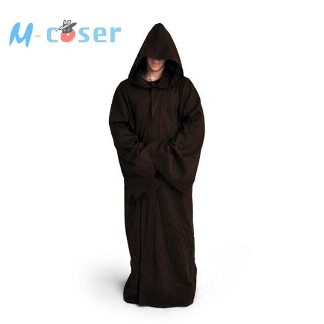Star Wars  Jedi Robe Darth Vader Terry Cosplay Costume Jedi Cloak Bath Robe Full set