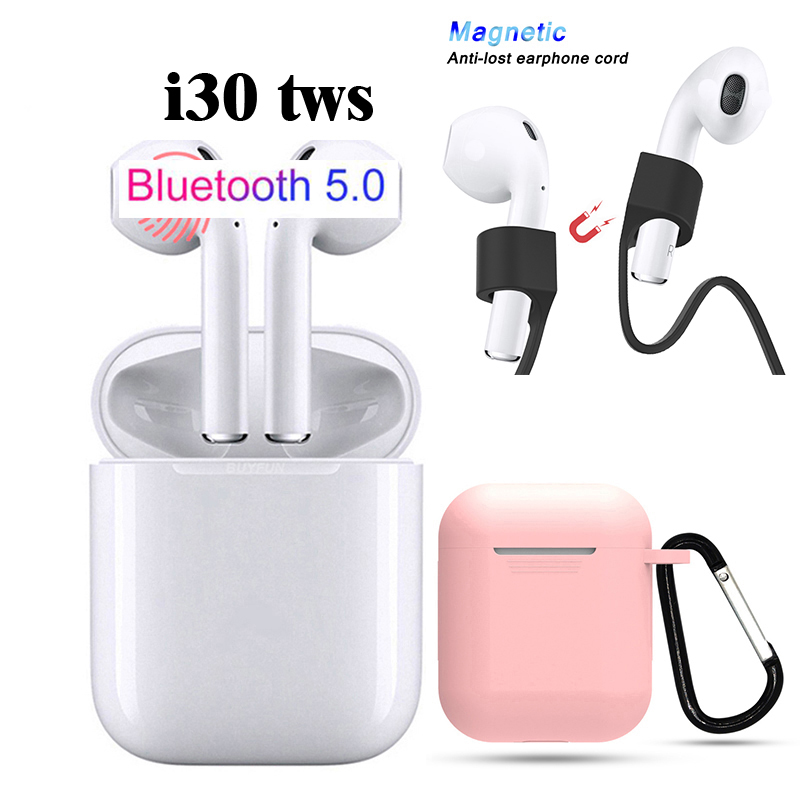 Old town i30 <font><b>TWS</b></font> Wireless Bluetooth Headset 5.0 Touch PK 11 <font><b>12</b></font> 13 14 15 16 17 18 19 20 30 w1 chip 1:1 image