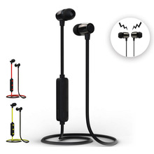 H15 Magnetic Bluetooth Earphone 4.2 Sports Cordless Handsfree Stereo Earbuds Headset With Mic headphones for Huawei Xiaomi phone