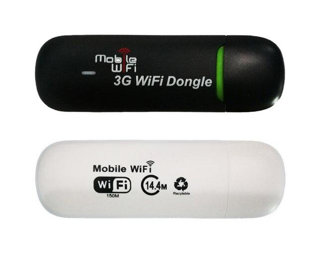Actualización versión 3G WiFi Router módem portátil Mini Wi-fi dispositivo móvil 3G Dongle inalámbrico con tarjeta SIM TF ranura para GSM/GPRS/EDGE/ED