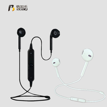 2017 S6 Bluetooth headset Headphones for sony xiaomi mi Mobile phone Sports Headphone Studio Music headsets with Microphone