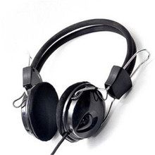 Hot selling wired Earphone Headphone with Microphone MIC Headset Skype for PC Computer Laptop NEW