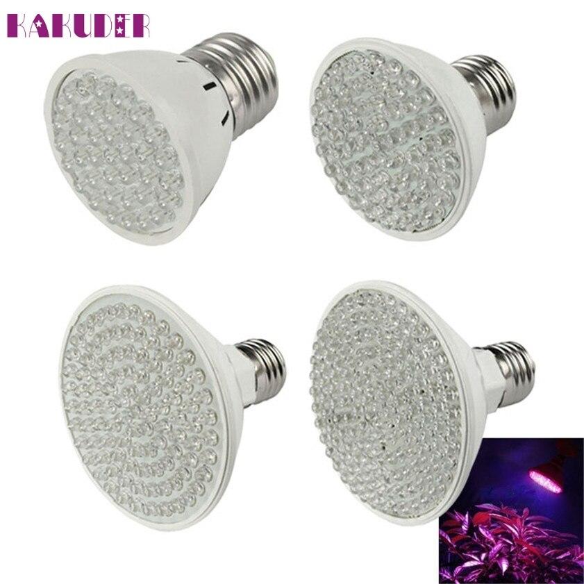High Quality New E27 (38~138)LED 7W Plant Grow Light Bulb Garden Hydroponic Lamp