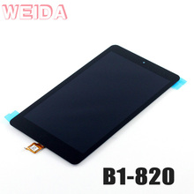 цена на WEIDA 8 LCD Display For Acer Iconia B1 B1-820 LCD Display Touch Screen Assembly Replacement B1 820