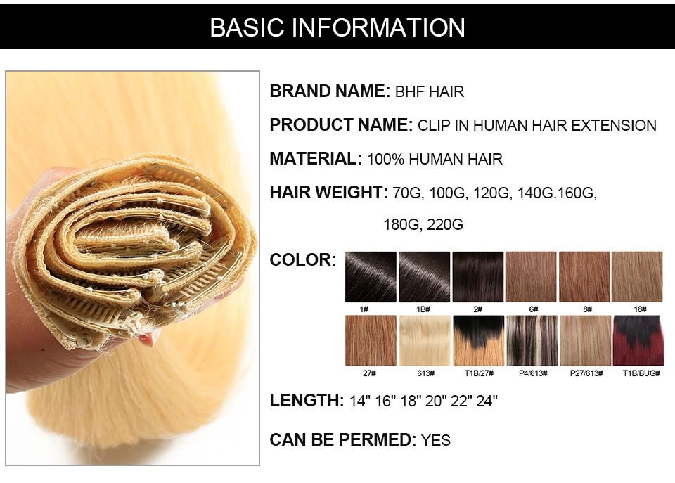 clip in human hair  (5)