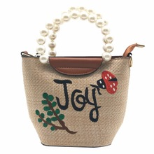 Vintage Weave Embroidery Chain Women Messenger Bags Bohemian Style Mini Womens National mushroom