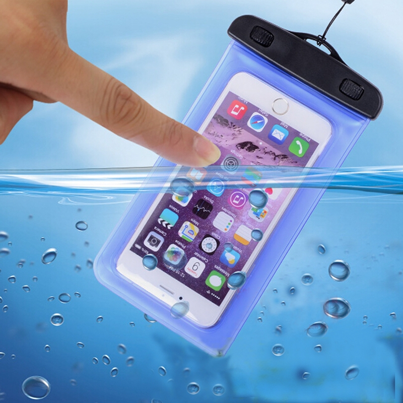 promo code 58681 119fc GETIHU Universal Sealed Waterproof Bag Pouch Phone Cases For iPhone  Cellphone Smartphone Water Proof Case For 5.5 inch or Below-in Phone Pouch  from ...