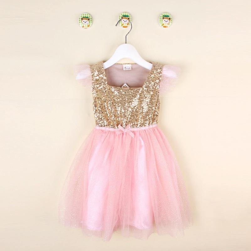 Pink Gold Dress for Kid Promotion-Shop for Promotional Pink Gold ...