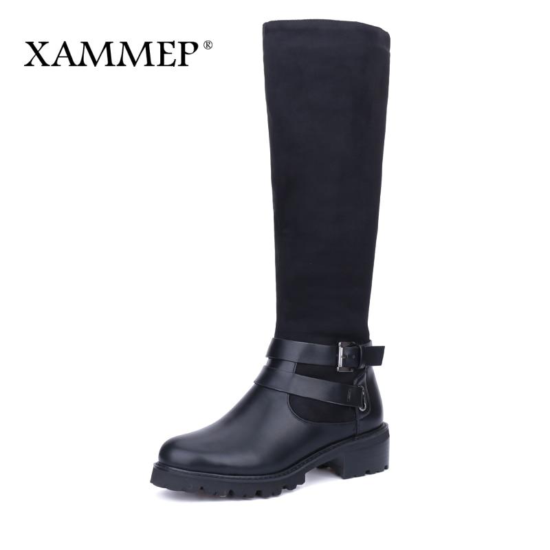 Plus Große Größe Frauen Winter Schuhe Marke Frauen Schuhe Leder - Damenschuhe