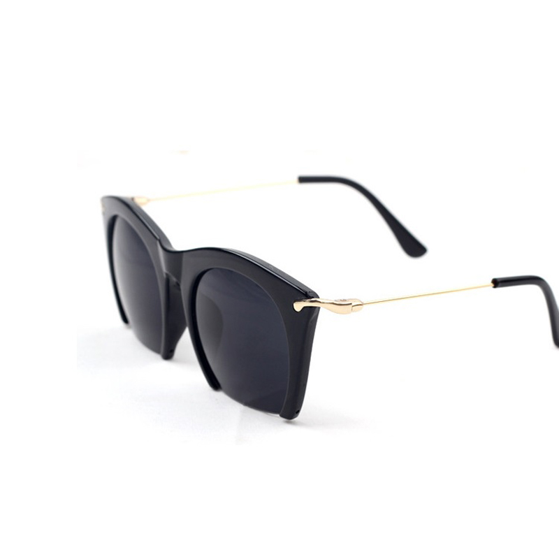 Half Frame Glasses Outfit : Brand Half Rim Sunglasses CAT EYE Shades Lenses Half Frame ...