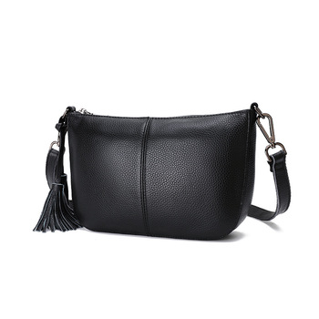 9P0413 New Fashion Mother's Leather Shoulder Bag Cowhide Leather Purses and Handbags
