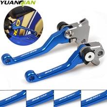 For YAMAHA YZ125 YZ250 YZ250F YZ426F YZ450F YZ250X YZ 125 250 250F 426F 450F 250X CNC Pivot Brake Clutch Levers Dirt Bike Blue for yamaha yz125 yz250 yz426f yz450f yz250f yz 125 250 426f 450f 250f 2001 2007 cnc pivot brake clutch levers dirt bike blue