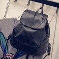Kajie Wash Skin Leather Large Capacity Student Fashion Women Bag Backpacks For Teenage Girls Sac A Dos Travel Feminine Mochila