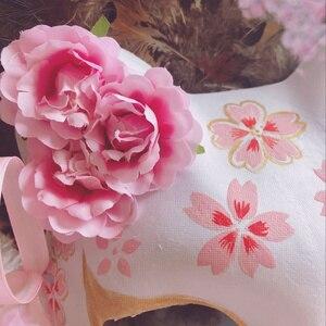 Image 4 - 9 хвостая маска лисы, ручная роспись, кошка, книга друзей Natsume, целлюлоза, Полулицо, Хэллоуин, косплей, животные, вечерние игрушки для женщин