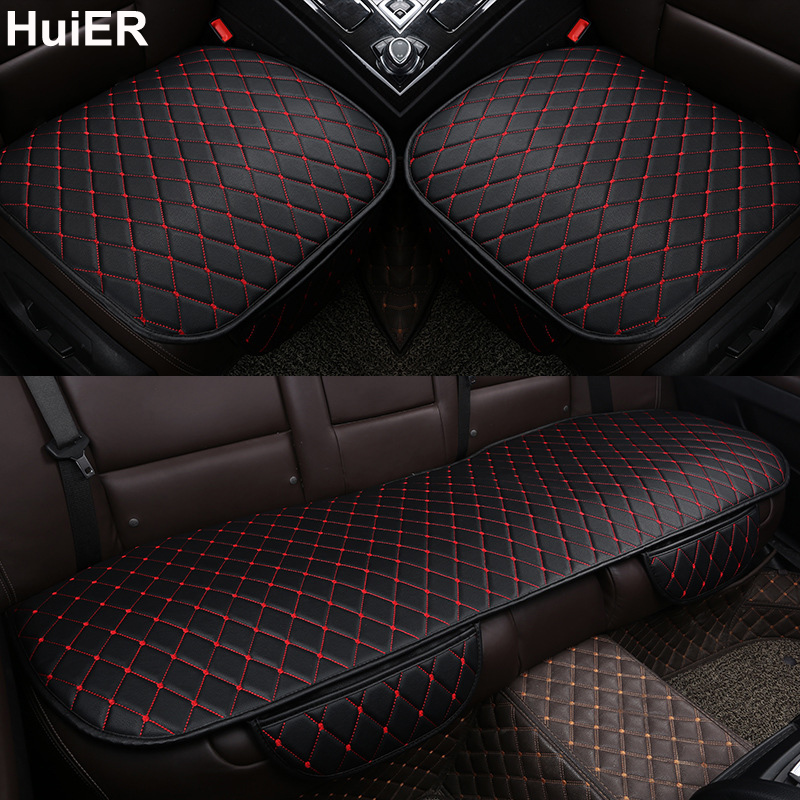 HuiER Car Seat Cushions High Leather Comfortable Car Styling Anti-skid Seat Protector Car Seat Covers Seat Cushion Free Shipping
