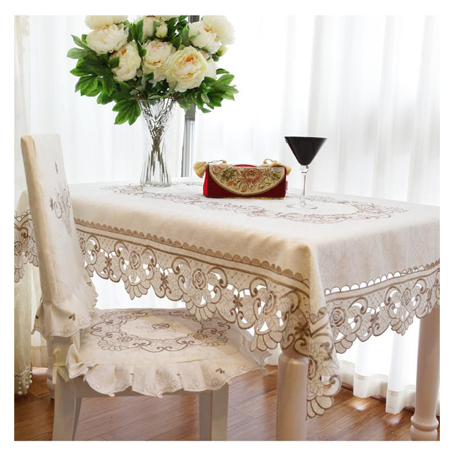 European Decorative Tablecloth – rectangle / round / oval