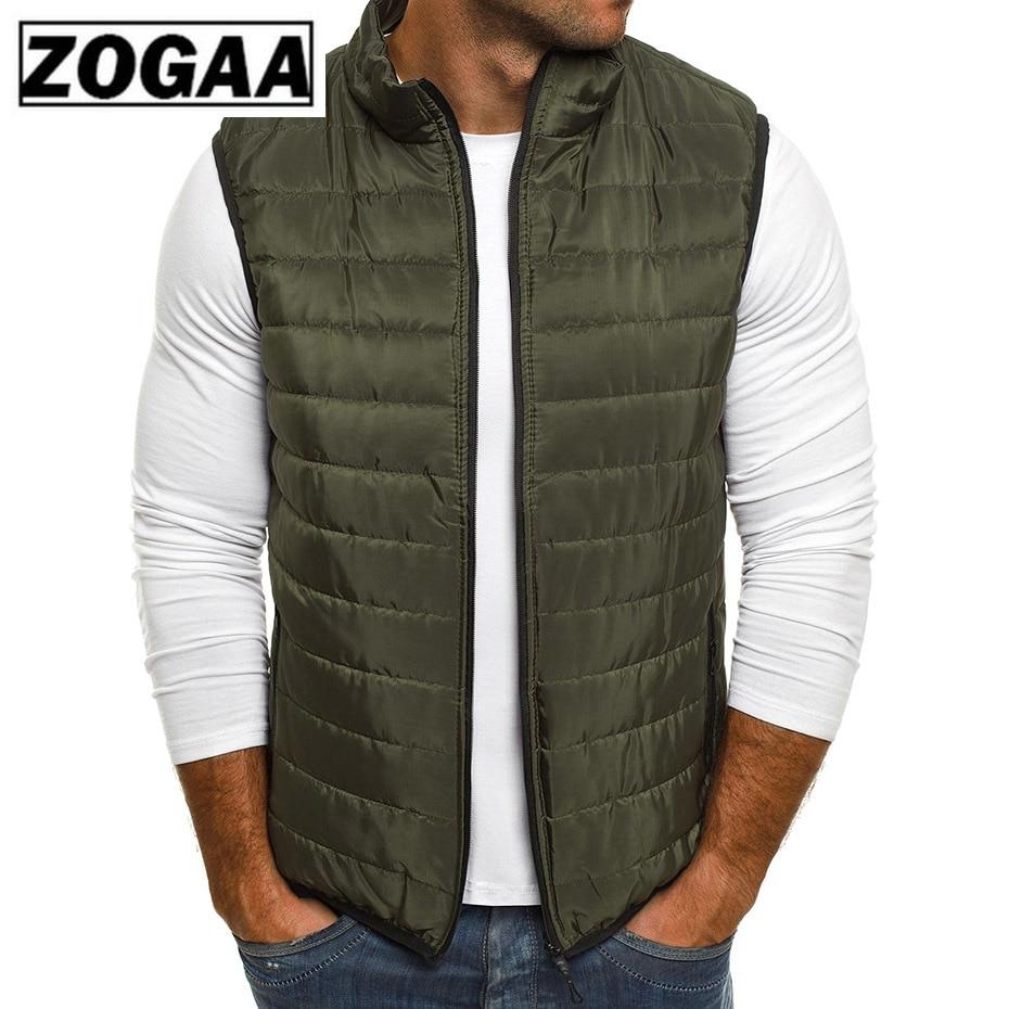 ZOGAA Plus Size Men Jackets Coat Autumn Man Down Winter Oversized Warm Down Parkas Male Winter Down Vests Men Outerwear in Vests amp Waistcoats from Men 39 s Clothing