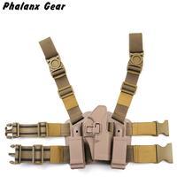 Tactical G17 Holster Pistol Thigh Holster of Polymer / Pistol Leg Holster with Platform gs7 0007