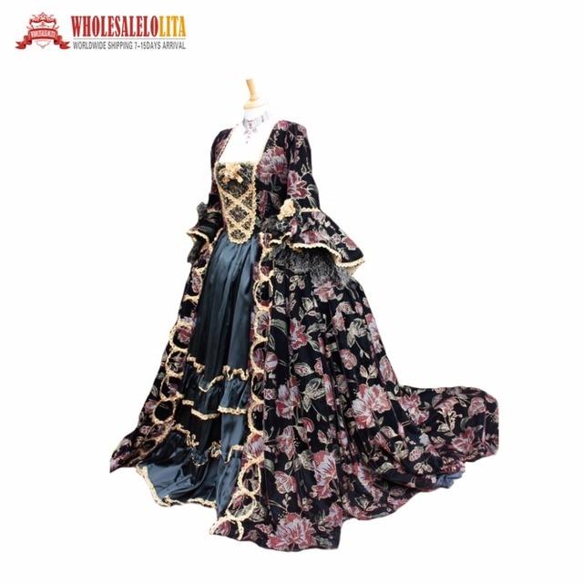Fantasie Gothic Viktorianischen kleid viktorianischen ballkleid ...
