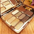 Profissional Shiny Eyeshadow Naked Palette 10Colors Cosmetics Luminous Long-lasting Eye Makeup Tools paleta