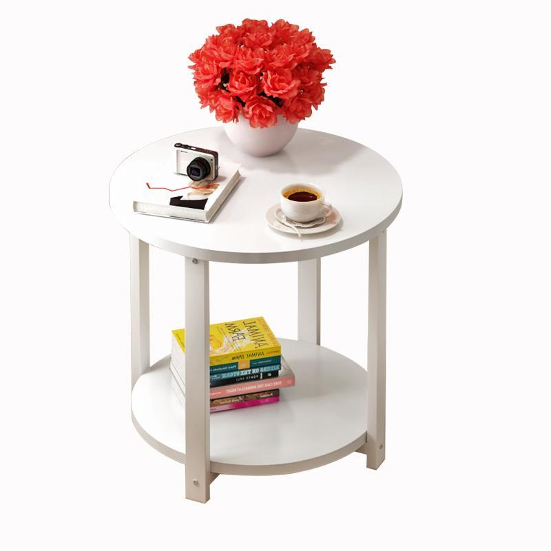 Coffee Small Round Modern Sofa Bills Simple Angle A few Nordic Side Telephone Table toughened glass small tea table phone sofa the round table