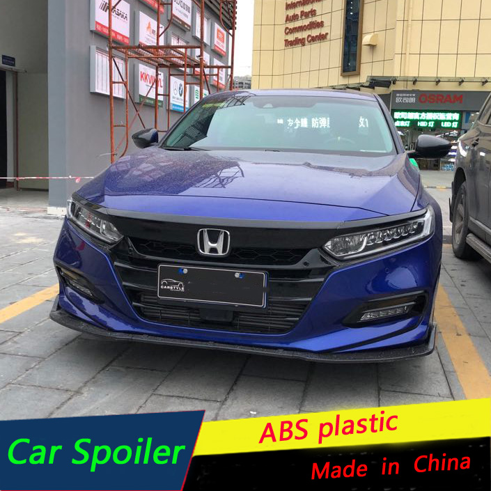 For Honda Accord Front Bumper Diffuser Protector For 2018 ...