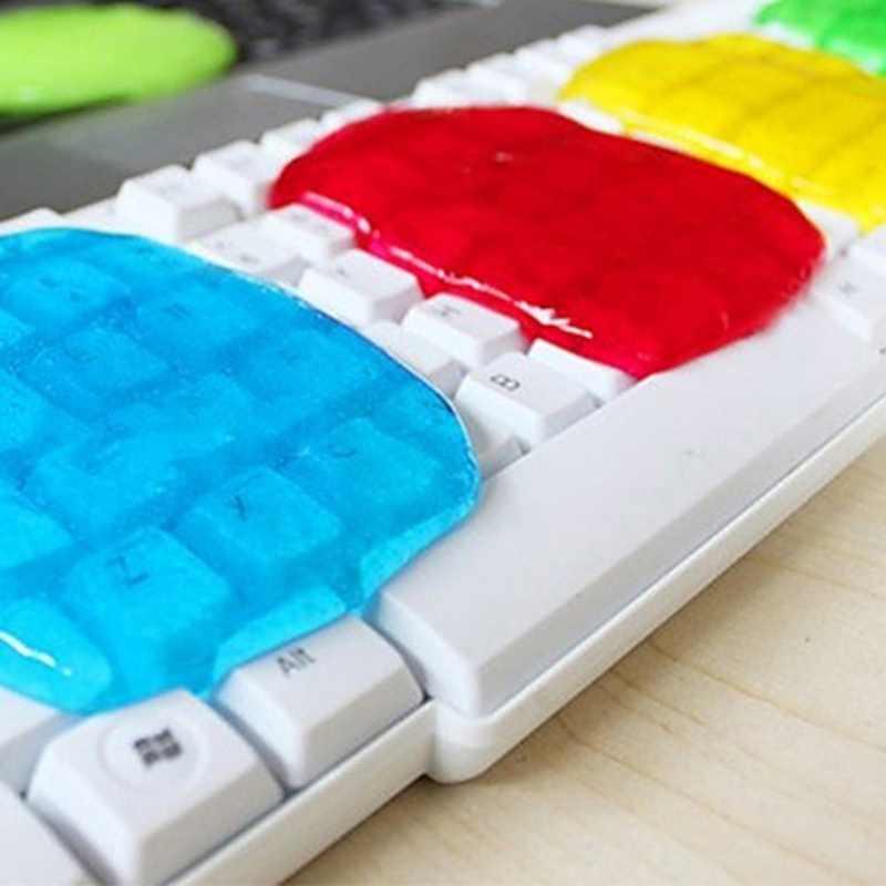Glue Cleaner Tools 2pcs Computer Gel Household Keyboard Mobile Phones Reusable