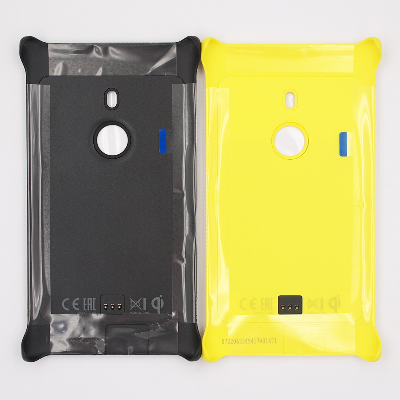 wholesale dealer e51a6 2fee2 US $8.91 6% OFF|BaanSam New Charging Case QI Standard Appropriative  Wireless Charging Cover Case For Nokia Lumia 925 Black Yellow-in Phone  Pouch from ...
