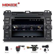 MEKEDE Бесплатная доставка android 8,1 автомобильный dvd-плеер для Toyota Prado 120 Land Cruiser 2004-2009 автомобильный радиоприемник gps Навигация BT карта